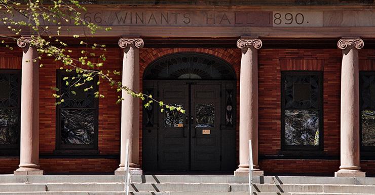 Winants Hall, College Avenue Campus